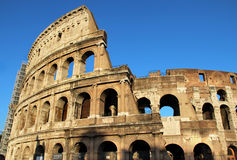 Beautiful view of Coliseum, Italy Stock Images