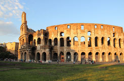 Beautiful view of Coliseum, Italy Royalty Free Stock Photo