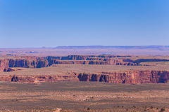 Beautiful view of Colorado river canyons Royalty Free Stock Photography
