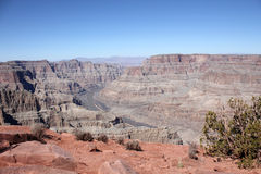 Grand Canyon Eagle Point Stock Photo