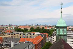 Beautiful view of Copenhagen city Royalty Free Stock Photo