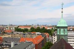 Beautiful view of Copenhagen city Royalty Free Stock Photo