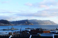 Beautiful view. Cracking view from Simons town Royalty Free Stock Photo