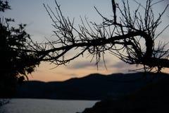 Beautiful view of the Crimean Black Sea coast stock photos