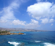 Beautiful view of the Cyprus island Stock Photography
