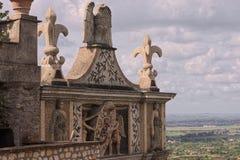 Beautiful view from d'Este villa tower, Italy, Tivoli Royalty Free Stock Photography