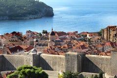 Beautiful view of Dubrovnik, Croatia Royalty Free Stock Image
