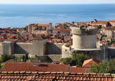 Beautiful view of Dubrovnik, Croatia Stock Photo