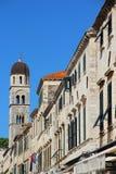 Beautiful view of Dubrovnik, Croatia Royalty Free Stock Photos