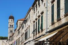Beautiful view of Dubrovnik, Croatia Stock Images