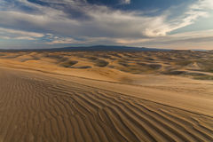 Beautiful view of the dunes of the Gobi Desert. Royalty Free Stock Image