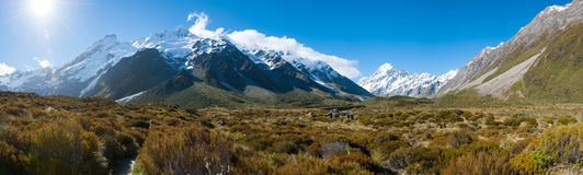 Free Beautiful View During Walk To Glacier In Mount Cook, South Island, New Zealand Royalty Free Stock Photography - 28826277