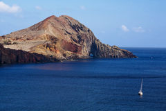 Beautiful view of Eastern Madeira coast Royalty Free Stock Images