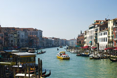 Beautiful view of famous Canal Grande in Venice, Italy Stock Photo