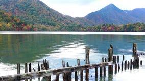 Beautiful view of the famous Lake Chuzenji at Nikko City