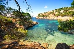 Cala Marmassen, Andratx Mallorca Spain. stock image