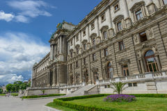 Beautiful view of famous Naturhistorisches Museum (Natural Histo Stock Image