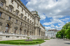 Beautiful view of famous Naturhistorisches Museum (Natural Histo Royalty Free Stock Photos