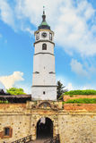 Beautiful view of the fortress Kalemegdan in Belgrade, Serbia Royalty Free Stock Photo