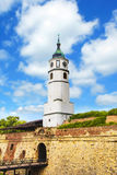 Beautiful view of the fortress Kalemegdan in Belgrade, Serbia Stock Images