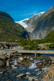 Beautiful view of Franz Josef Glacier in Westland National Park on the West Coast of South Island in New Zealand Stock Photography