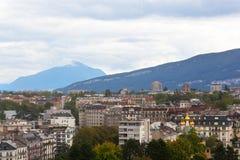 Beautiful view of Geneva Stock Photos
