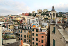 Beautiful view of Genova, Italy Stock Photography