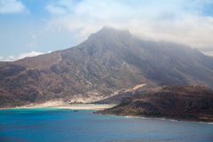 Beautiful view of Gramvousa island Stock Photography