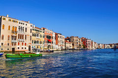 Beautiful view of Grand Canal, Venice Stock Images