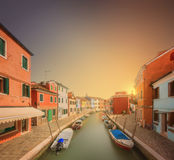 Beautiful view of the Grand Canal  in Venice Royalty Free Stock Photos