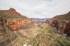 Beautiful view of Grand canyon, famous place for tourists. Royalty Free Stock Image