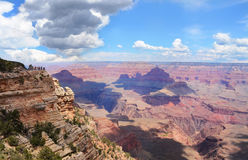Beautiful view of  Grand Canyon National Park. Royalty Free Stock Photo
