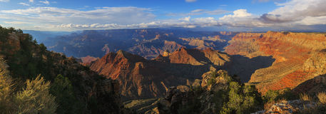 Beautiful view of Grand Canyon from South Rim, Arizona, US Stock Image
