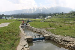 Beautiful view of Gulmarg stock photography