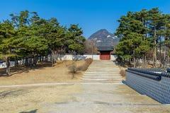 Beautiful view at Gyeongbok Palace. Seoul,Korea Stock Images