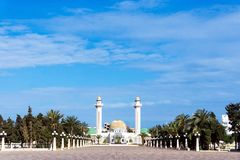 General View  of the Bourguiba Mausoleum in Monastir, Tunisia stock image