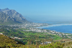 Beautiful view of Hermanus Royalty Free Stock Images