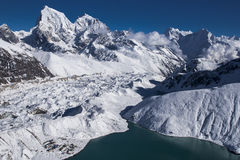 Beautiful view of the Himalayas from Gokyo Ri Stock Images