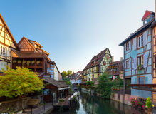 Beautiful view of the historic town of Colmar Stock Photo