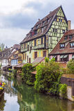 Beautiful view of historic town of Colmar, Alsace region, France Royalty Free Stock Photo