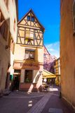 Beautiful view of the historic town of Colmar, also known as Little Venice, France. Beautiful view of the historic town of Colmar, also known as Little Venice Royalty Free Stock Photos