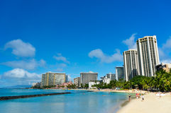 Beautiful view of Honolulu, Hawaii Stock Image