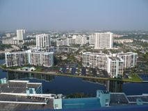 Beautiful view from hotel in florida Stock Photo