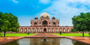 Beautiful view of Humayun`s Tomb, Delhi, India Stock Photography