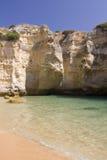 Beautiful view of an idyllic wild beach Royalty Free Stock Photo