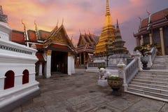 Wat Phra Keaw in Bangkok, Thailand stock photos