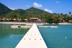 Beautiful view of the island of Koh Samui Stock Photography