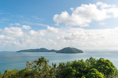 A beautiful view of the islands Royalty Free Stock Image