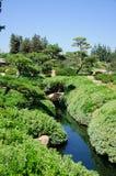 Beautiful view of Japanese Garden Stock Image