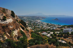 Beautiful view in Kefalos Stock Photos
